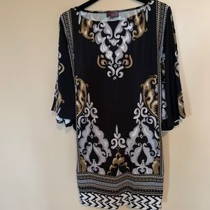 Hale Bob - women's stunning tunic / dress (Size S)